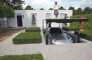 luxurious hydraulic underground garage parking freshome com underground garage design luxurious hydraulic