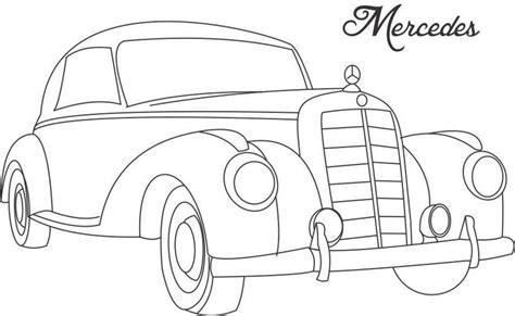 how to draw paint cars books line drawing of cars classic car coloring