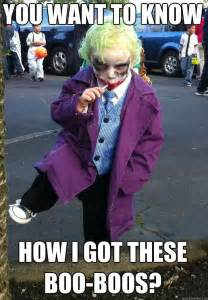 Dark Knight Joker Meme - if the joker were a child this is what he d be saying