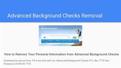 Remove Arrest Records Removing Arrest Records From Criminal Background Checks