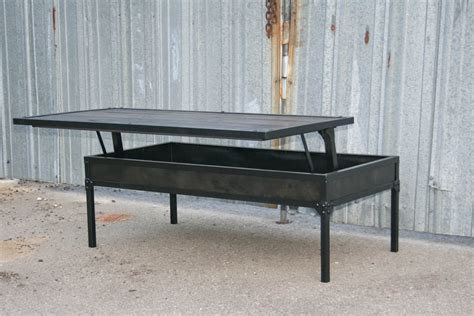 height of coffee table vintage industrial adjustable height coffee table combine 9