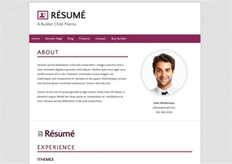 Resume Now How To Cancel Just Released New Builder Child Theme R 233 Sum 233 In 3 Color Variations