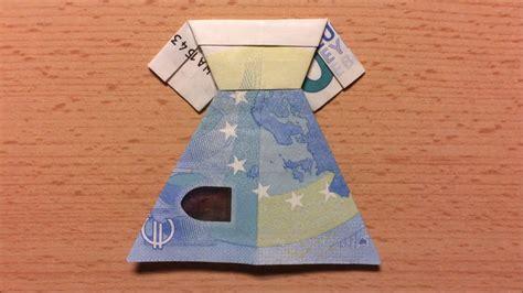 hochzeitskleid aus geld falten so kannst du ein hochzeitskleid aus einem geldschein