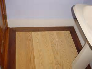 Floor Border by Walnut Wood Floors Duffyfloors