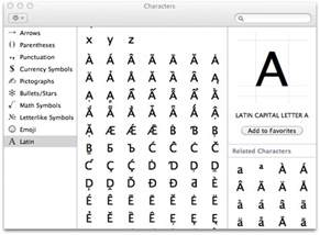 image gallery keyboard accent shortcuts