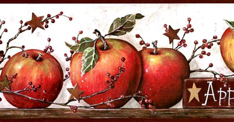 apple wallpaper kitchen country themed wallpaper borders all hd wallpapers
