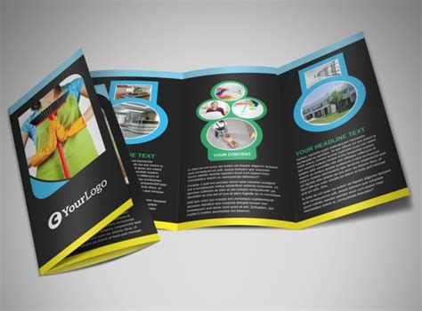 commercial cleaning brochure templates commercial cleaning service brochure template mycreativeshop