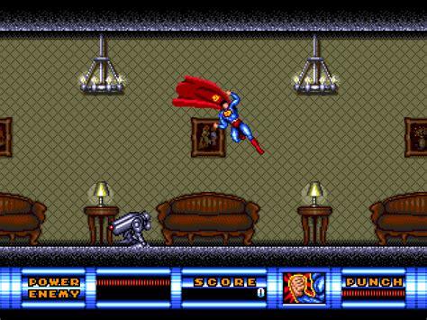 sega genesis superman superman gamefabrique