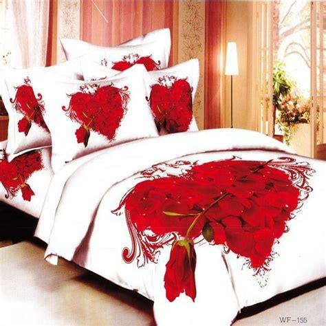 red king size comforter set hot 5pcs 3d bedding set cotton queen king size bedclothes