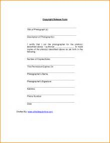 photographer copyright release form template copyright release form for photographs search