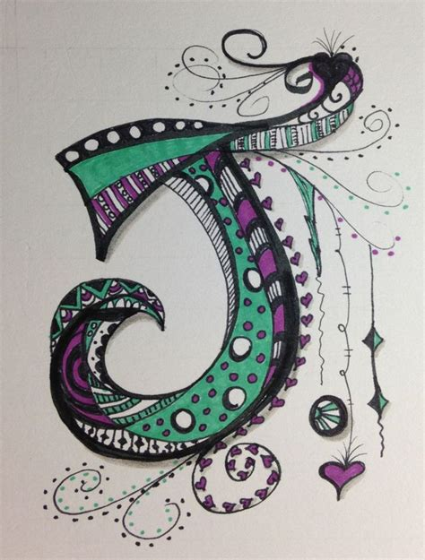 zentangle lettering google search zentangles doodles i didn t think i could do zen tangle letters i started