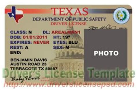 optimus 5 search image texas drivers license template
