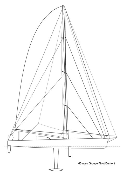dessin bateau route du rhum euroka un univers de service eric dumont