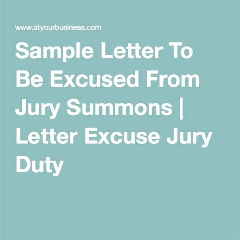 Jury Service Exemption Letter Exle Exles Of Excuse Letters For Jury Duty Exle Of An Excuse Letter Made By A Student