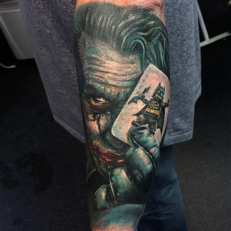 joker sleeve tattoo 34 joker card tattoos