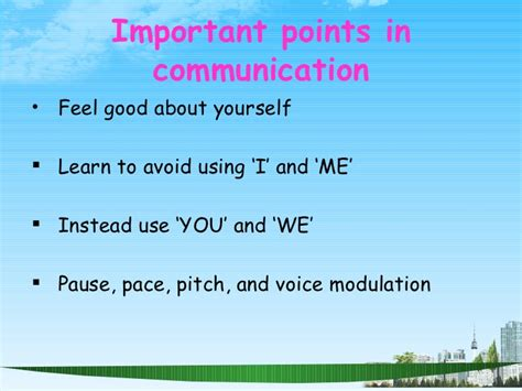 Mba Presentation Tips by Communication Skills Ppt Bec Doms Mba 1 St Sem