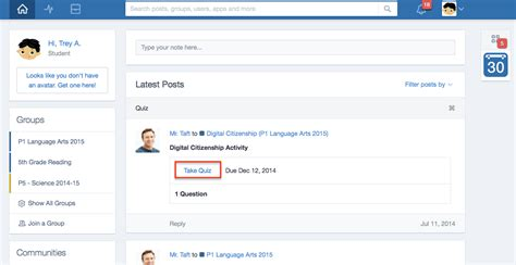 edmodo questionnaire quizzes how to edmodo help center