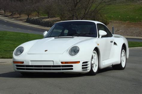 80s porsche 959 uber rare porsche 959 prototype heads to auction