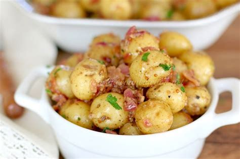 creamy southern style potato salad arl s world check out warm bacon potato salad it s so easy to make
