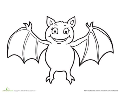 bat coloring pages preschool vire bat coloring page bats worksheets and teaching
