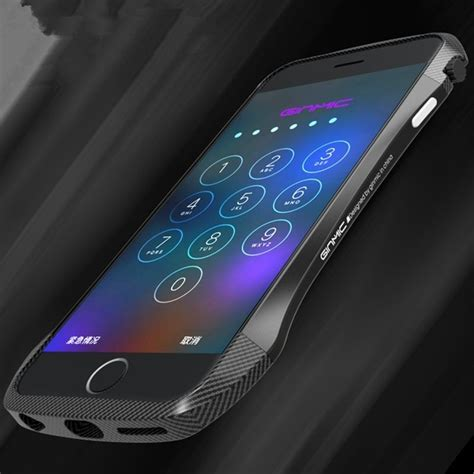 Iphone 6 Plus Front Back Luxury Colorful Carbon Tempered Glass Kuat ginmic luxury metal aluminum carbon fiber bumper