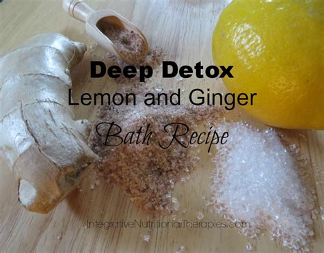 Chemical Detox Bath by Detox Lemon And Bath Recipe