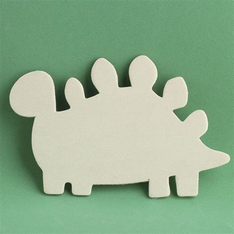 pattern for wood cutouts unfinished wood stegosaurus dinosaur cutout animal and