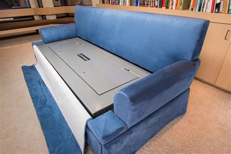 gun safe sofa couchbunker couch with gun safe icreatived