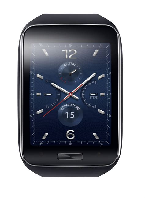 Smartwatch Samsung Gear 3 curved display sim equipped samsung gear s made official