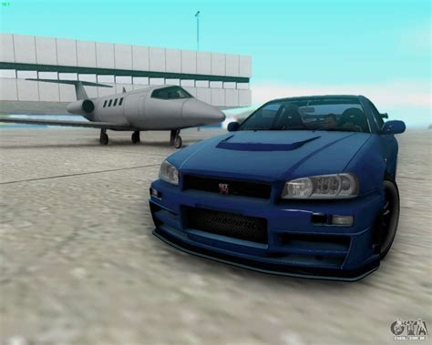 nissan skyline fast and furious 4 nissan skyline r34 fast and furious 4 para gta san andreas