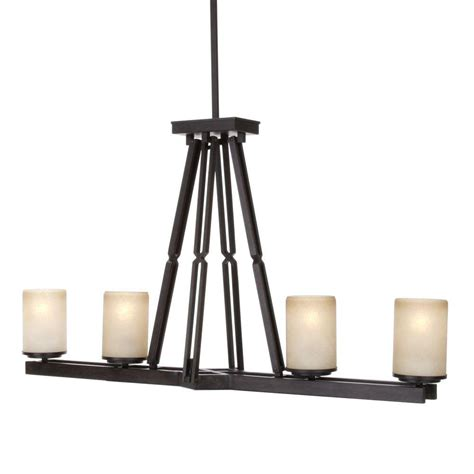 home depot kitchen lighting hton bay alta loma 4 light dark ridge bronze island