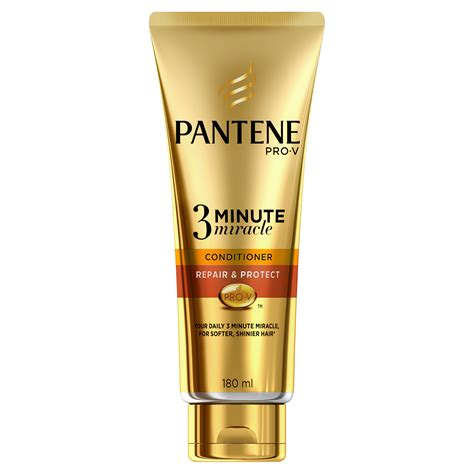 Pantene Kondisioner 3 Minutes Miracle Quantum Total Damage Care 180ml pantene 3 minute miracle repair and protect conditioner 7 99 34 beautiful may must haves to