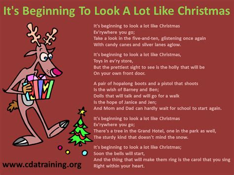 its beginning to look a lot like christmas chords child care basics resource blog it s beginning to look a