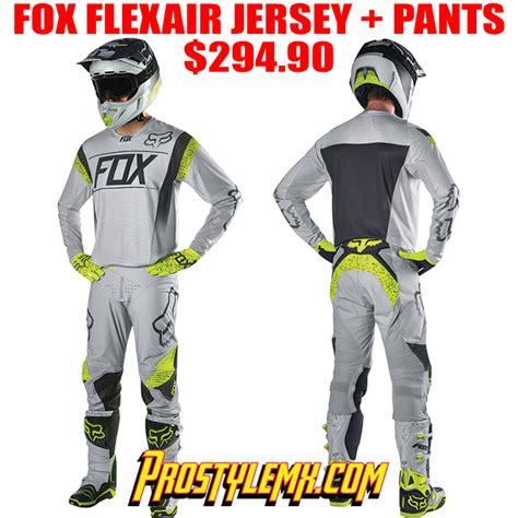 fox motocross gear combos 2016 fox flexair kroma le gear combo pro style mx