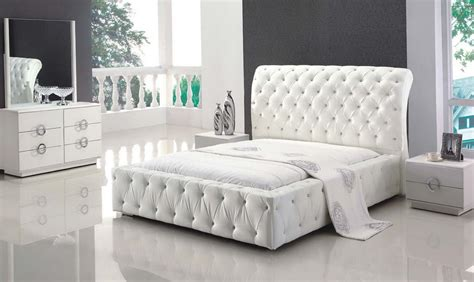 white leather bedroom sets home design ideas