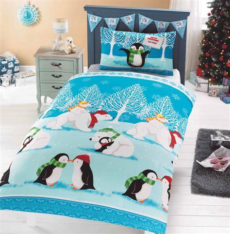 Bedcover My Uk 160181 quilt duvet cover bedding bed sets 5 sizes festive santa new ebay