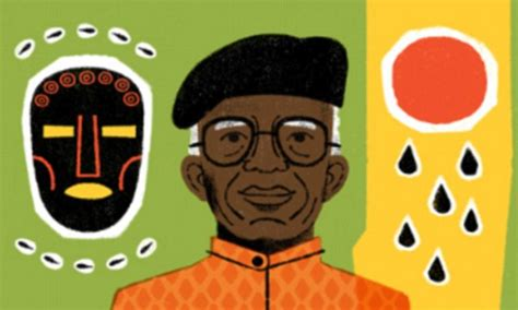 doodle daily mail chinua achebe is celebrated in a doodle daily