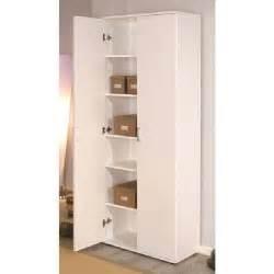 armoire de rangement 2 portes arconati blanche achat