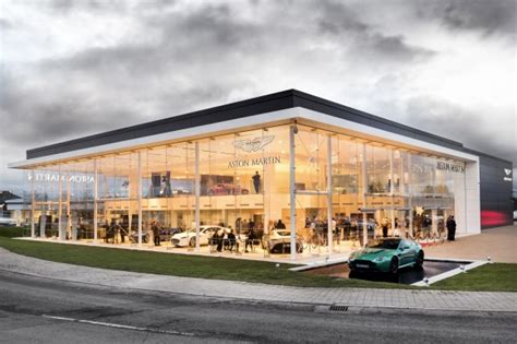 Aston Martin Dealership by Stoneacre Opens New Aston Martin Showroom In Newcastle