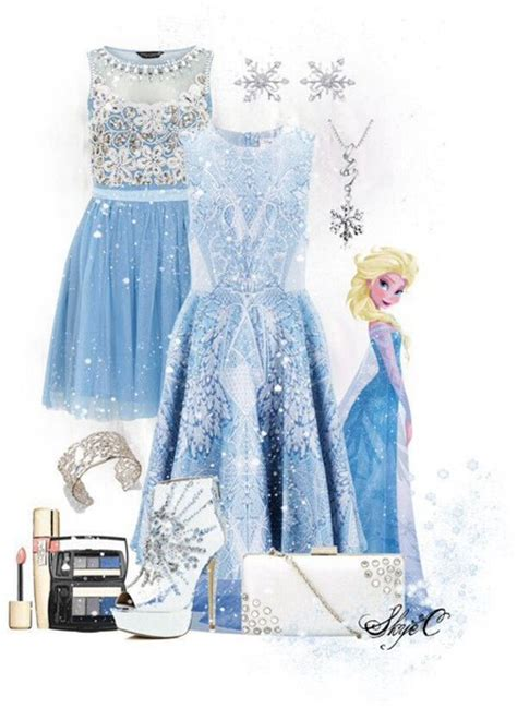 Dress Frozen Blue dress elsa disney disney clothes frozen blue dress light blue sparkle dress