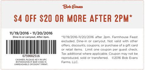 bob evans printable grocery coupons bob evans coupons june 2017 printable coupons 2017 2017