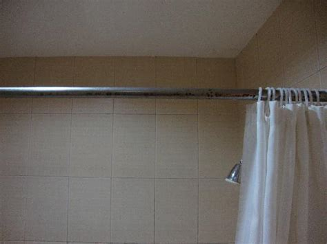 hotel curtain rods rusty shower curtain rod picture of golden prince hotel