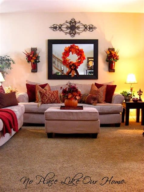 Fall Living Room Ideas by Easy Fall Decorating Ideas