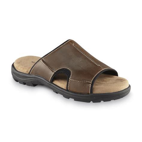 best mens sandals thom mcan s top sail slide sandal brown