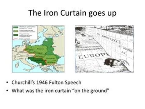 who came up with the iron curtain ppt what is the message of this cartoon powerpoint