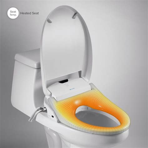 Heated Toilet Seat Bidet by Bidet Toilet Seat Brondell Swash 1400 Biorelief
