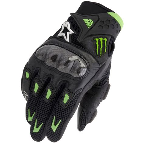 monster energy motocross gloves alpinestars smx 2 m10 air carbon monster energy short