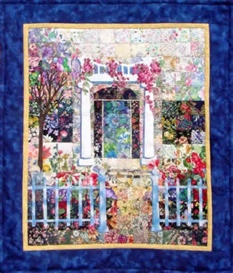 Patchwork Wall Hanging Kits - estate watercolor quilt kit whims