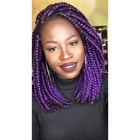 box braids in a bob with blue hair com 42 best big jumbo braids styles with images beautified
