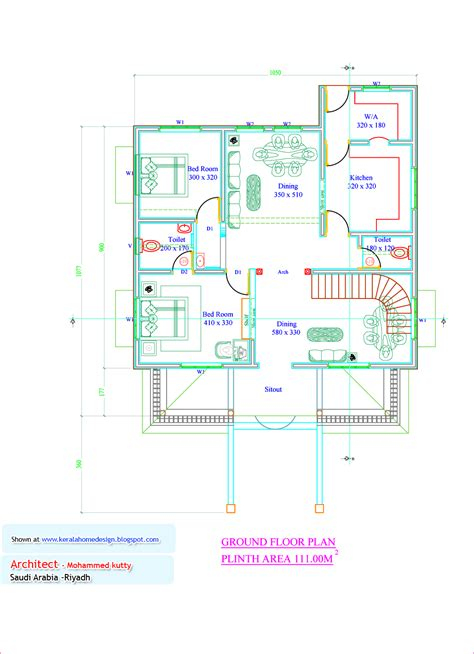 kerala floor plans kerala home plan and elevation 1936 sq ft home appliance